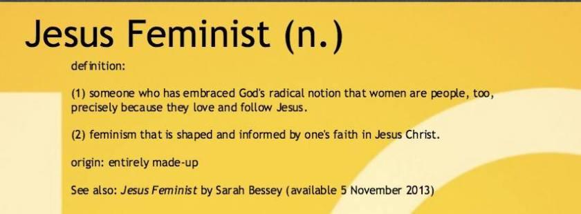 Jesus-Feminist-banner-definition